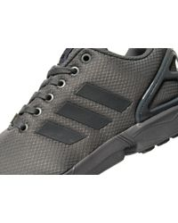 adidas Originals Synthetic Zx Flux Ripstop in Grey (Gray) for Men ...