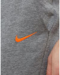 Nike Gray Fc Barcelona Tech Pants for men