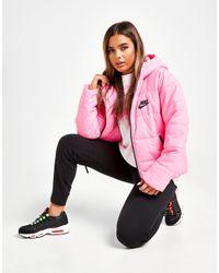 Nike Pink Core Swoosh Jacket
