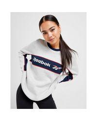 Reebok Multicolor Vector Linear Crew Sweatshirt