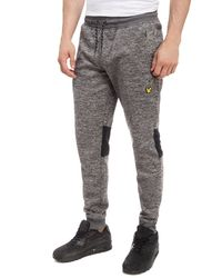 Lyle & Scott - Gray Greene Fleece Pants for Men - Lyst