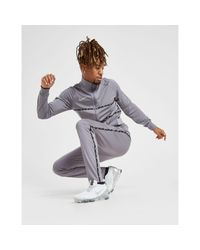 Nike Gray Academy Tape Track Pants for men