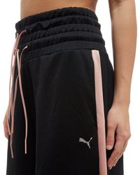 PUMA Black En Pointe Wide Leg Pants