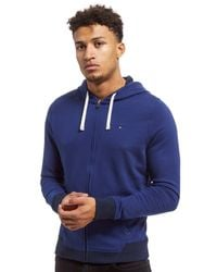 Tommy Hilfiger - Blue Core Full Zip Hoodie for Men - Lyst