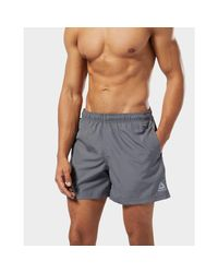 Reebok Gray Swim Boxers for men