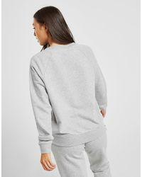 Essential Futura Felpa a girocollo di Nike in Gray