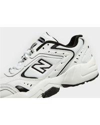 New Balance White 452