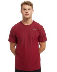 Nike Red Zonal Cooling T-shirt for men