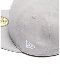 KTZ - Gray Mlb New York Yankees 59fifty Fitted Cap for Men - Lyst