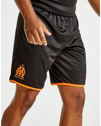 PUMA Black Olympique Marseille 2019/20 Third Shorts for men
