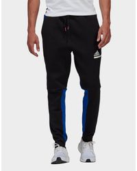 Adidas Blue Z.n.e. Tracksuit Bottoms for men