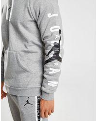 Nike Gray Arm Hit Overhead Hoodie for men