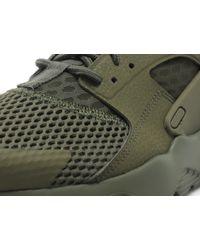 Nike Green Huarache Run Ultra 'breathe' for men