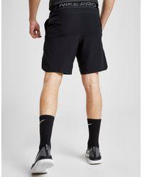 Short Pro Homme Nike pour homme en coloris Black