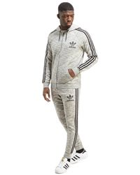 Adidas Originals - Gray California Cuff Track Pants for Men - Lyst