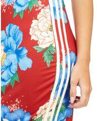 Adidas Originals Red Farm Dress