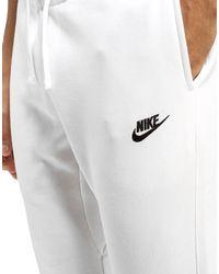 Nike White Foundation Dc Fleece Pants for men