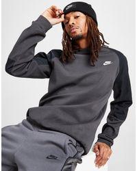 Nike Gray Optic Crew Sweatshirt for men