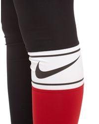 Nike Multicolor Training Power Colourblock Tights