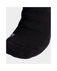 Adidas Originals Black Alphaskin Lightweight Cushioning Over-the-calf Compression Socks for men