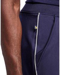 Lyle & Scott - Blue Mears Fitness Shorts for Men - Lyst