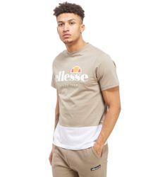 Ellesse Multicolor Meriano Colour Block T-shirt for men