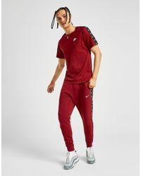 T-Shirt Tape Homme Nike pour homme en coloris Red