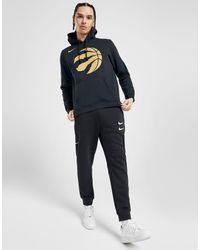 NBA Toronto Raptors City Edition Felpa di Nike in Black da Uomo