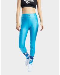 Reebok Blue Classics Leggings