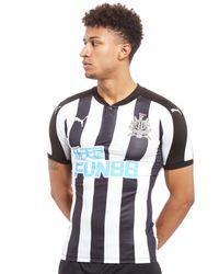 PUMA Black Newcastle United Home Shirt 2017/18 for men