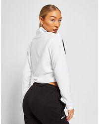 Sweat-shirt 1/4 Zip Micro Polaire Femme Ellesse en coloris White