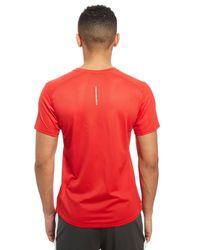 Nike Red Dry Miler Performance T-shirt for men
