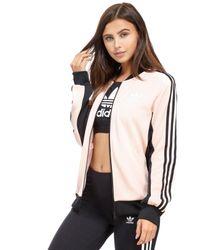 Adidas Originals | Pink Supergirl Track Top | Lyst