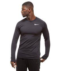 Nike Black Thermal Sphere Crew Running Top for men