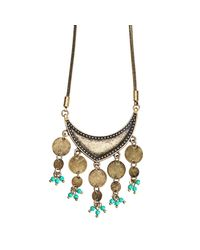 Jenny Bird - Metallic August Moon Necklace - Lyst