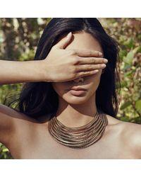 Jenny Bird - Metallic Illa Collar - Lyst