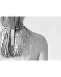 Jenny Bird - Metallic Zenith Collar - Lyst
