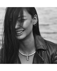 Jenny Bird - Metallic Slant Ear Cuff - Lyst