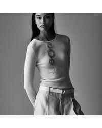 Jenny Bird - Metallic Boomerang Collar Necklace - Lyst