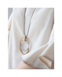 Jenny Bird - Metallic Lola Pendant - Lyst