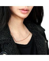 Jenny Bird - Metallic Maigret Swing Necklace - Lyst