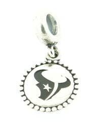 Pandora - Metallic 'nfl Team' Logo Engraved Dangle Charm - Lyst