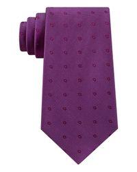 Calvin Klein - Purple New Reflection Dot Necktie for Men - Lyst