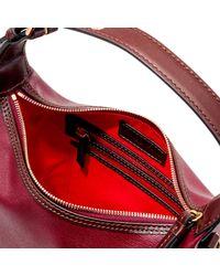 Dooney & Bourke - Red Thompson Paige Crossbody Shoulder Bag - Lyst