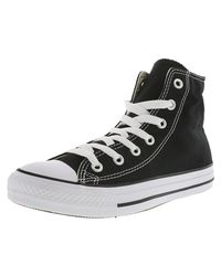 Converse - Chuck Taylor All Star Hi Black Sneakers for Men - Lyst
