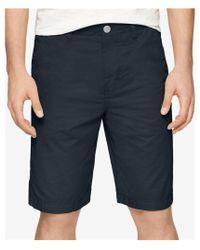 CALVIN KLEIN 205W39NYC - Blue Revel Multi-stitch Casual Walking Shorts for Men - Lyst