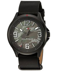 Tommy Hilfiger - Multicolor Leather Mens Watch 1791333 for Men - Lyst