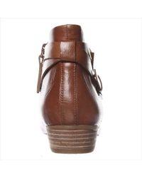 Nine West - Brown Explorer Ankle Boots - Dark Natural - Lyst