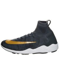 a6fd6c497fd Nike Zoom Mercurial Xi Flyknit Fc Blue Fox metallic Gold Coin 852616 ...