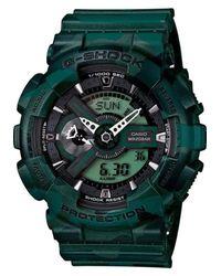 G-Shock - New G-shock Xl Worldtime Dark Green Camo -limited Edition   Authorized Dealer for Men - Lyst